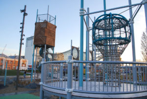 A must do for families is the Margaret Mahy Playground in Christchurch, the largest playground in the Southern Hemisphere // Backyard Travel Family