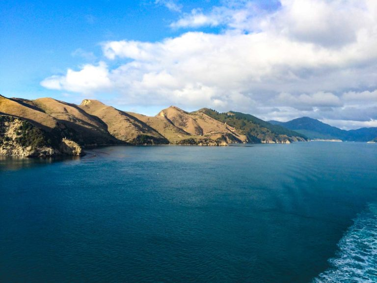 Backyard Travel Family provides you with the best tips for travelling across the Cook Strait by ferry. A fun way for the family to travel and see epic views like this