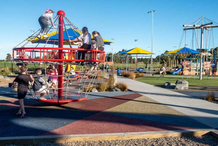 Such an awesome playground, Foster Park Playground, Christchurch, just 30 minutes from Christchurch Airport and the Christchurch CBD