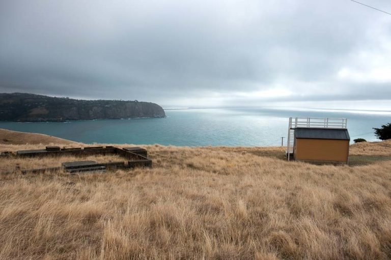 Scotts Cabin, Antarctic Bound Hut on the Godley Head Track, Christchurch, New Zealand