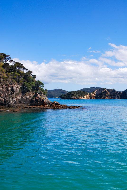 View from the Explore Boat on the way home from Otahei Bay, Urupukapuka Island