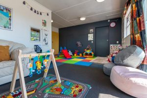 Amazing kids room at the Rydges Hotel Rotorua, some of the best cheap accommodation in Rotorua for family