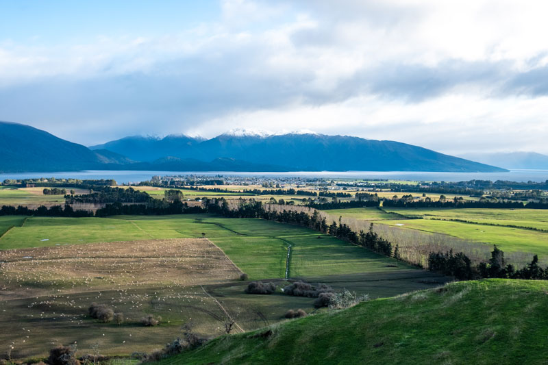 View from Lions Lookout Te Anau