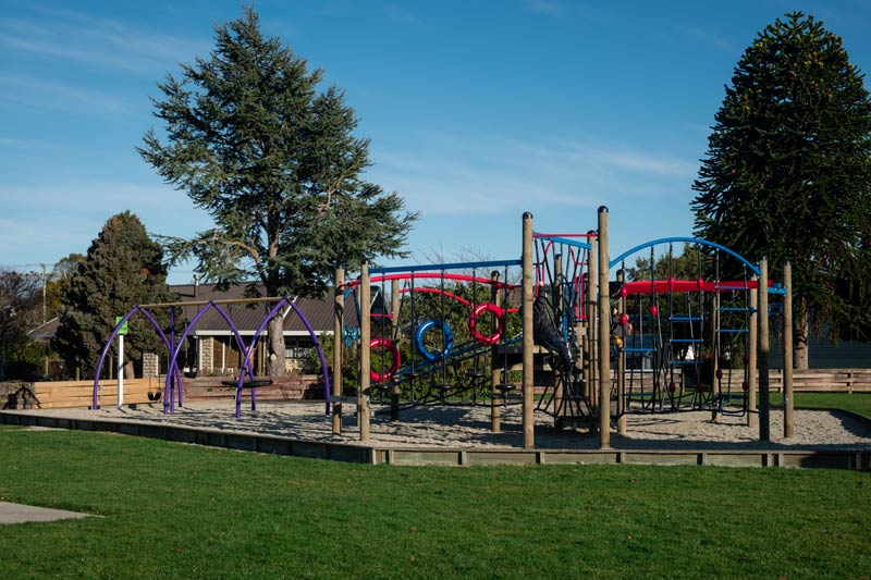 Large Owaka Playground - the best playground in the Catlins
